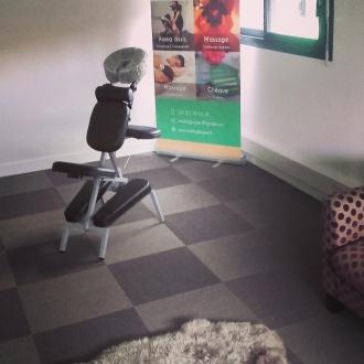 Massage Amma assis à La Colloc - Lorient