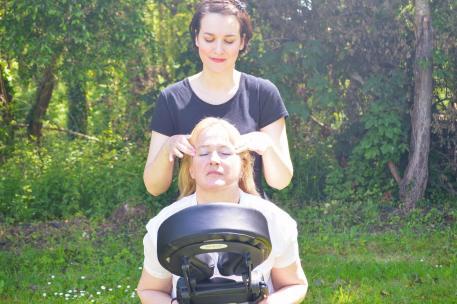 massage en entreprise Brest France