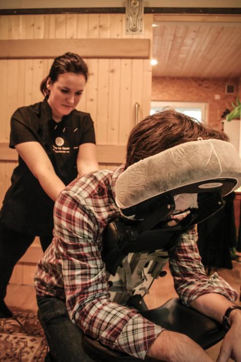 Massage entreprise Quimper