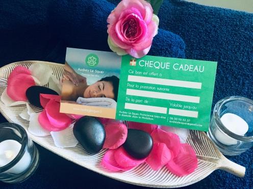 Carte cadeau massage Auray Morbihan