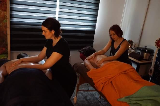Massage duo Auray Morbihan